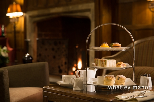 Afternoon Tea in the Drawing Room Whatley Manor 2017 Alternative image