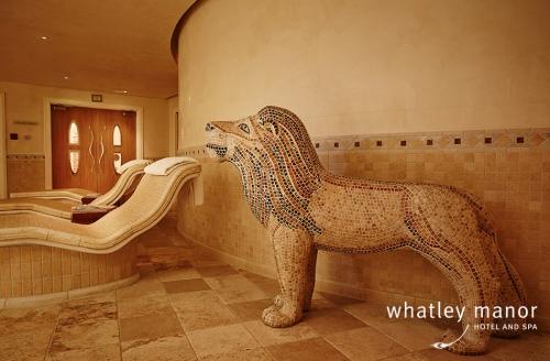 Mosaic Lion in The Tepidarium